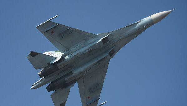 Истребитель СУ-27. Архивное фото