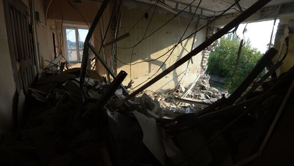 Ситуция в Донецкой области. Архивное фото