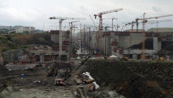 Реконструкция Панамского канала. Архивное фото
