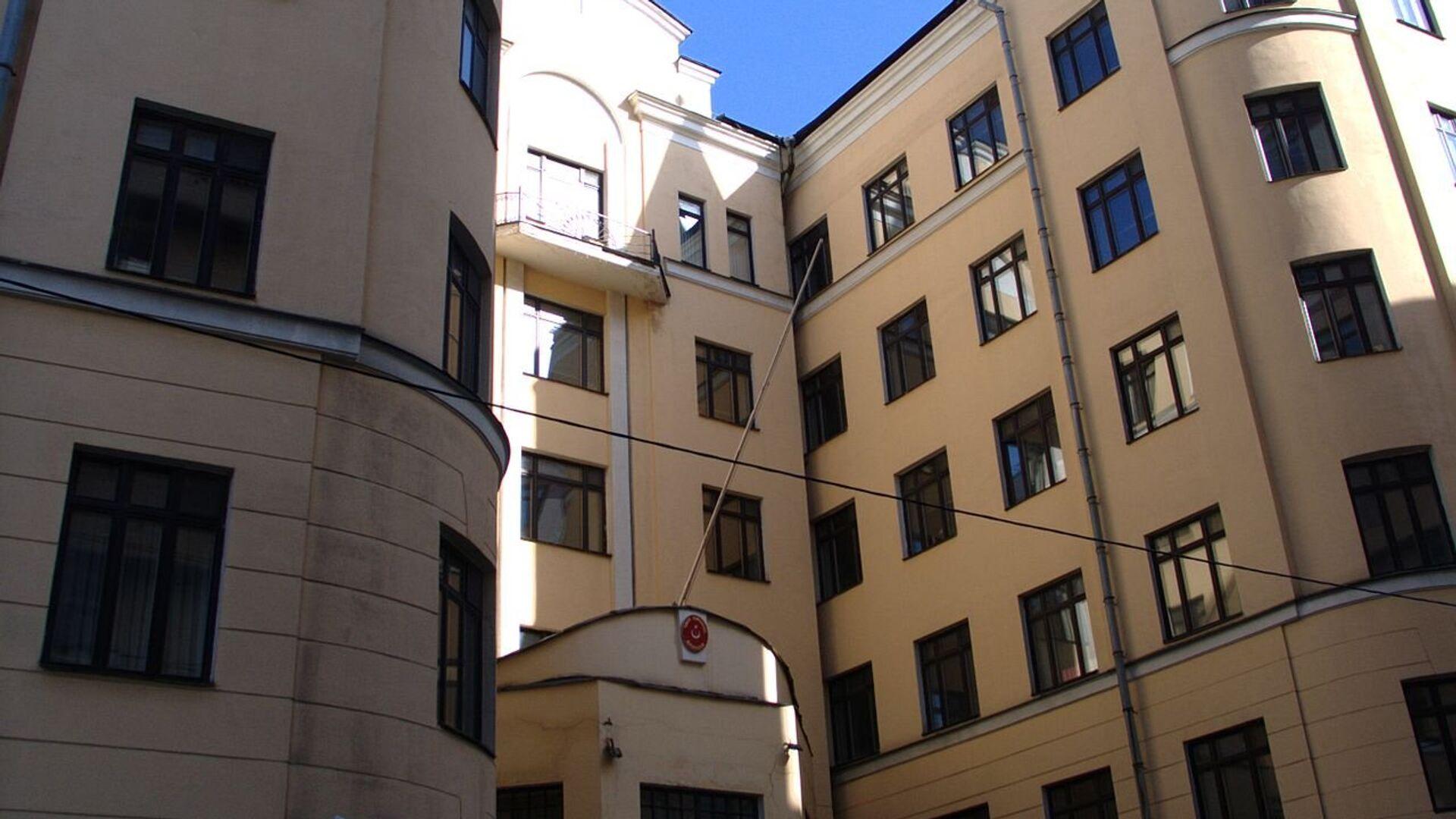 Здание посольства Турции в Москве - РИА Новости, 1920, 21.07.2021
