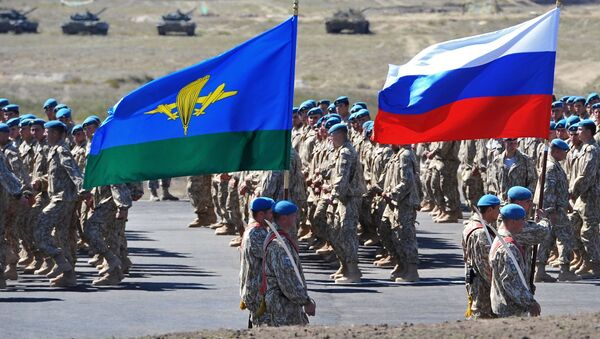 Учения КСОР ОДКБ Взаимодействие - 2014 в Казахстане