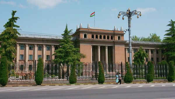 Президентский дворец в Душанбе (Таджикистан). Архивное фото