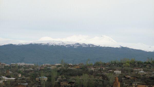 Виды Армении, архивное фото.