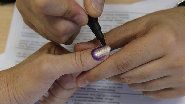 Выборы президента Абхазии в Москве. Архивное фото
