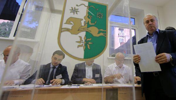 Выборы президента Абхазии в Москве