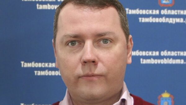 Депутат Тамбовской областной думы Владимир Топорков. Архивное фото