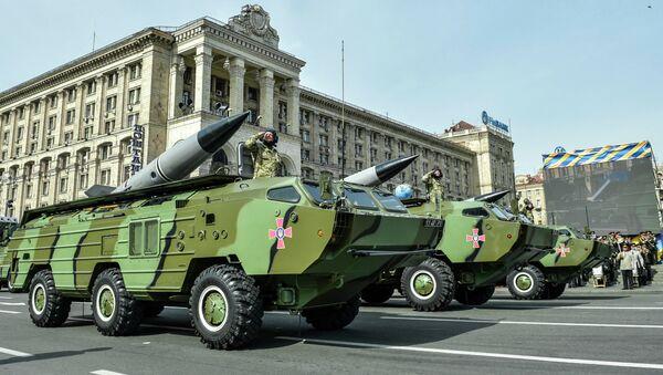 Ракетные комплексы 9К79 Точка-У вооруженных сил Украины. Архивное фото
