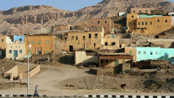 Египетский город Луксор. Архивное фото