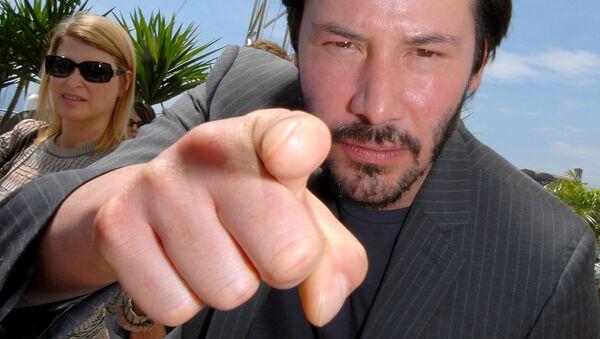 Киану Ривз на кинофестивале в Каннах