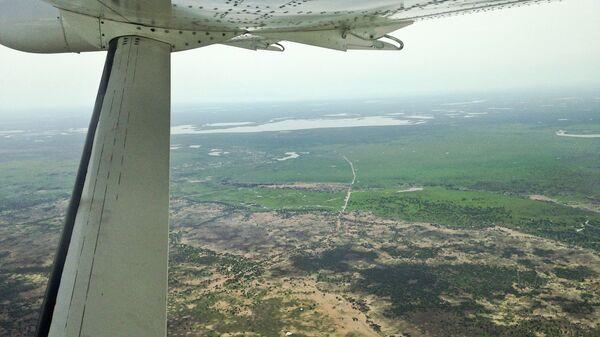Вид с воздуха на Судан. Архивное фото