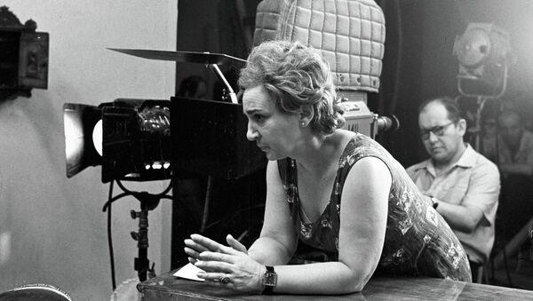 Режиссер Татьяна Лиознова. Архивное фото