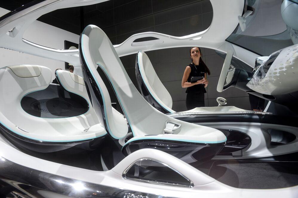 Концепт-кар Smart Fourjoy на Московском международном автосалоне