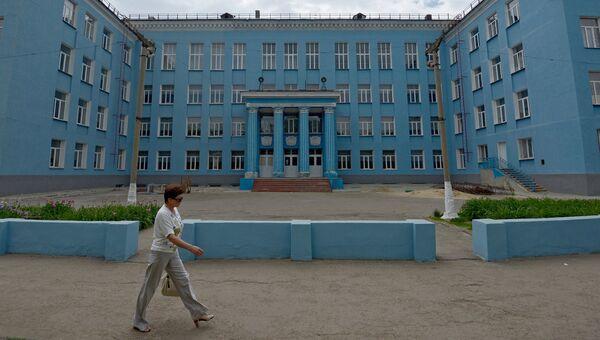 Школа в Луганске. Архивное фото