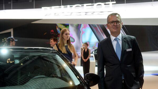 Генеральный директор Peugeot Россия Фредерик Вюаран