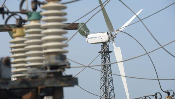 Ветровые электростанции. Архивное фото