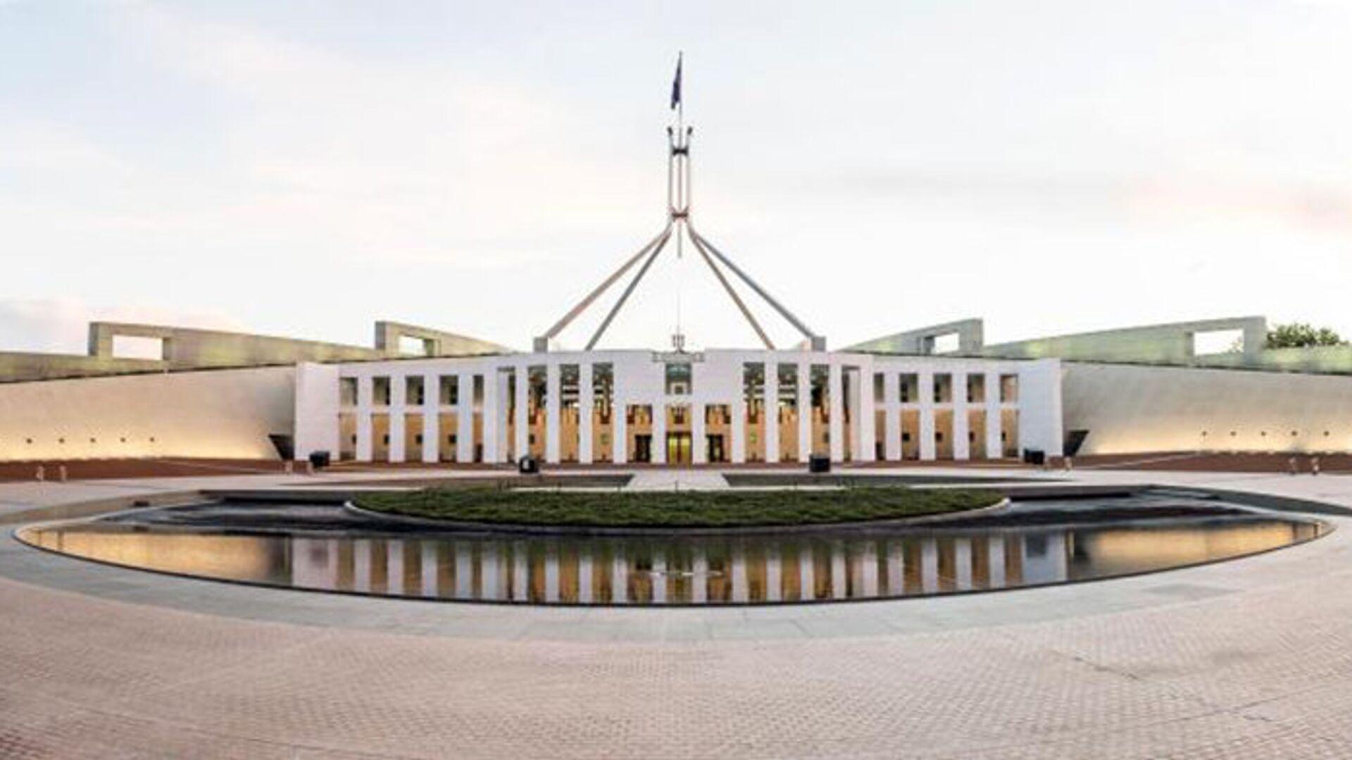 Здание Парламента Австралии - РИА Новости, 1920, 16.02.2021
