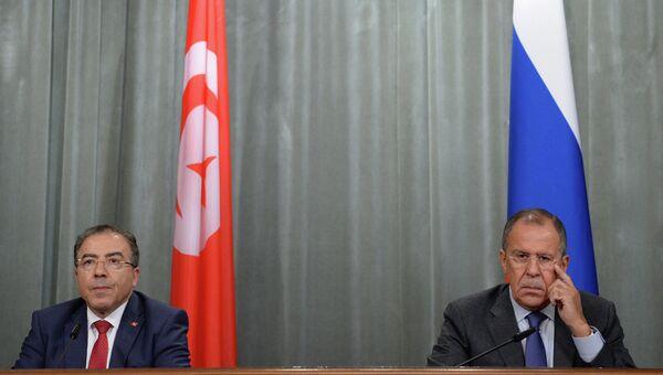 Рабочая встреча С.Лаврова с М.Хамди