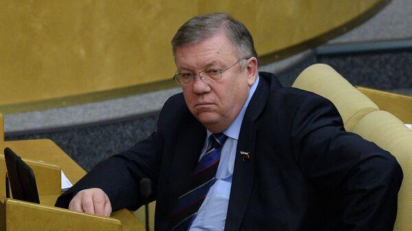 Глава комитета Госдумы по обороне Владимир Комоедов. Архивное фото