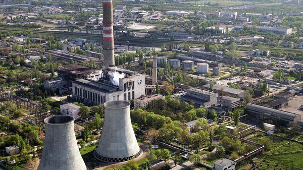 Симферопольская ТЭЦ. Архивное фото