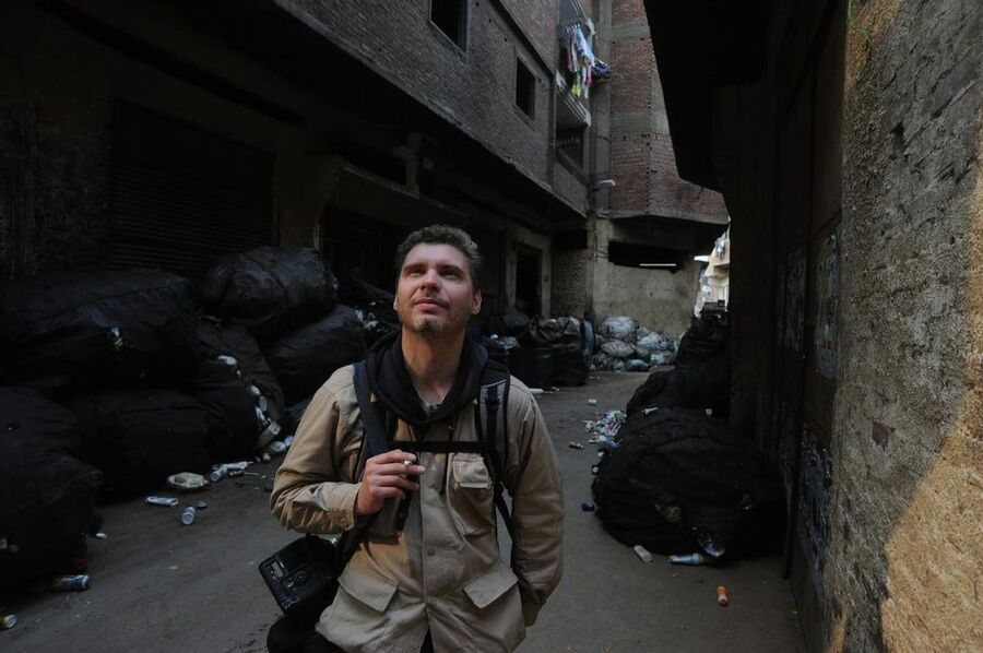 Фотокорреспондент Андрей Стенин