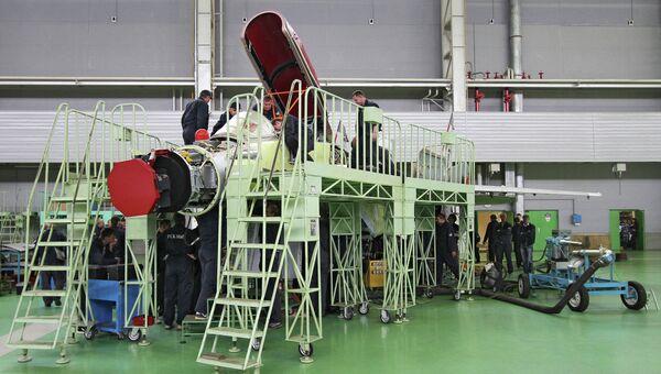 Производство самолетов МиГ