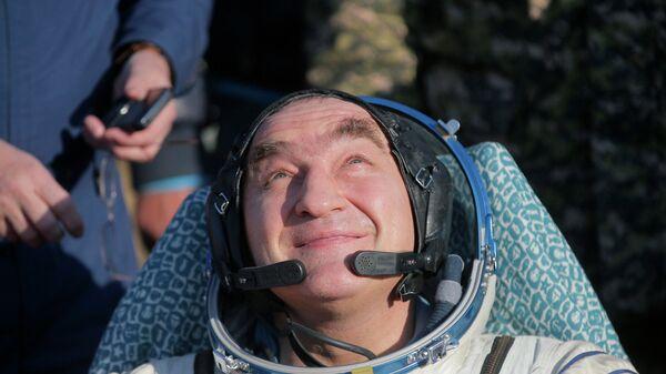 Российский космонавт Александр Скворцов