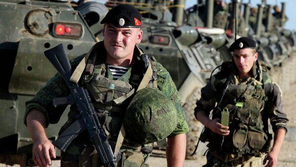 Военнослужащие ВВО. Архивное фото