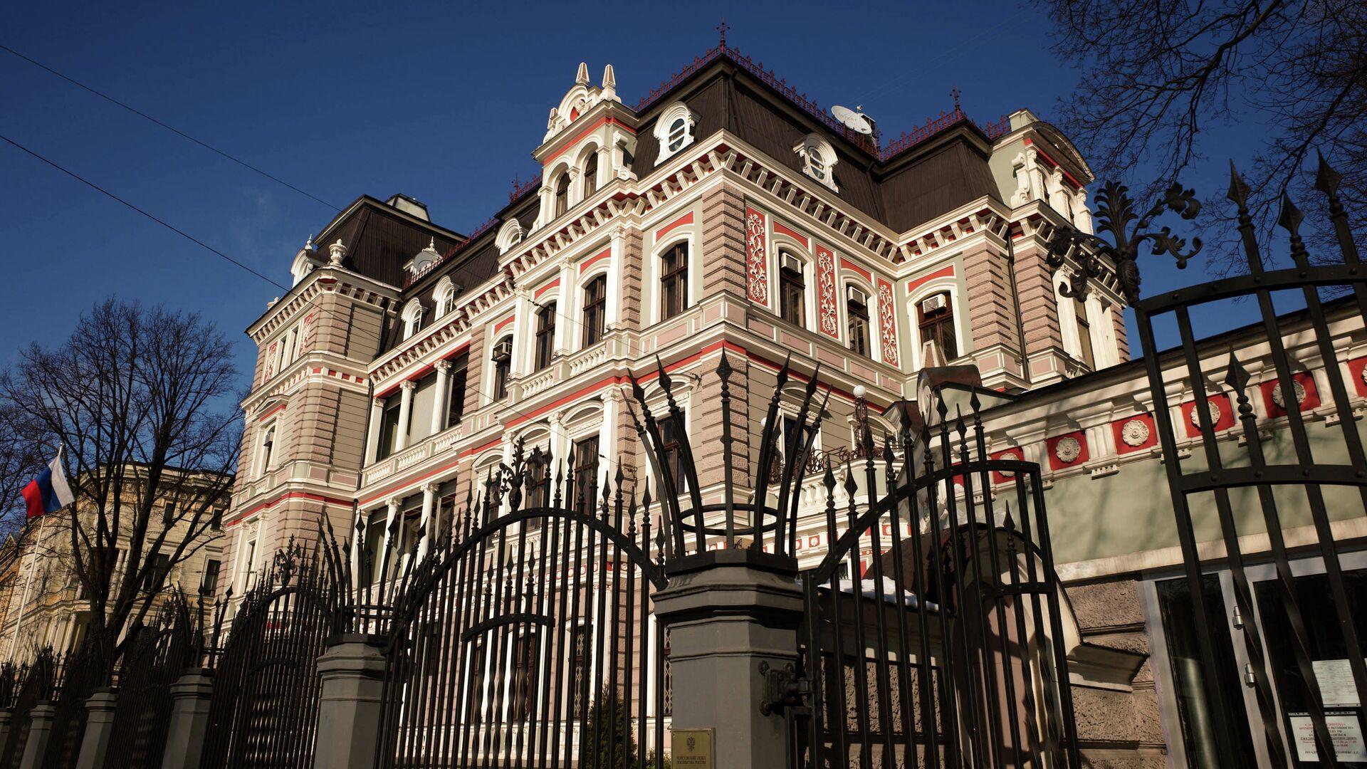 Здание Российского посольства в Латвии - РИА Новости, 1920, 26.02.2021