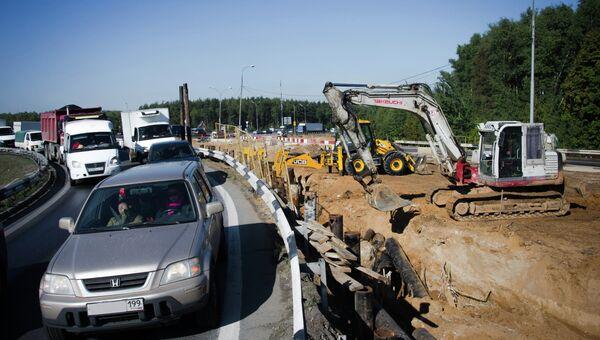 Реконструкция транспортной развязки на пересечении МКАД и Ленинского проспекта