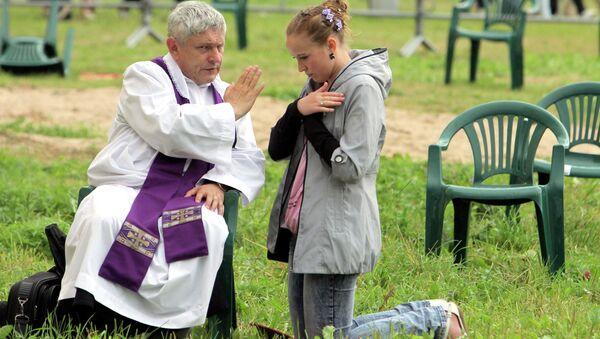 Католический праздник, посвященный торжеству католической святыни Беларуси - Будславской иконы Божией Матери состоялся в поселке Будслав в Белоруссии