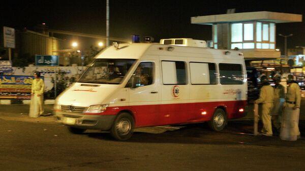Египетская скорая помощь. Архивное фото