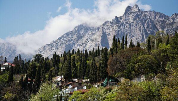 Вид на гору Ай-Петри. Архивное фото
