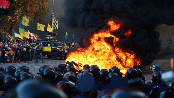 Митинг в Киеве, архивное фото
