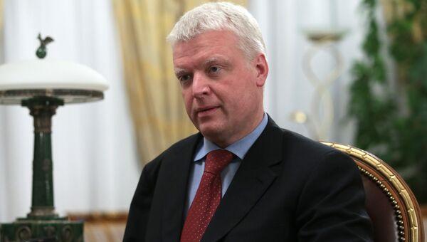 Президент алмазодобывающей компании АЛРОСА Федор Андреев. Архивное фото