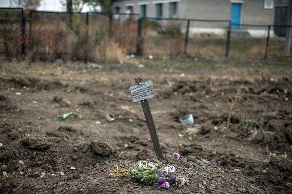 Братская могила возле села Нижняя Крынка