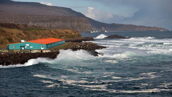 Остров Итуруп. Архивное фото