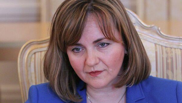 Министр иностранных дел Молдавии Наталья Герман. Архивное фото