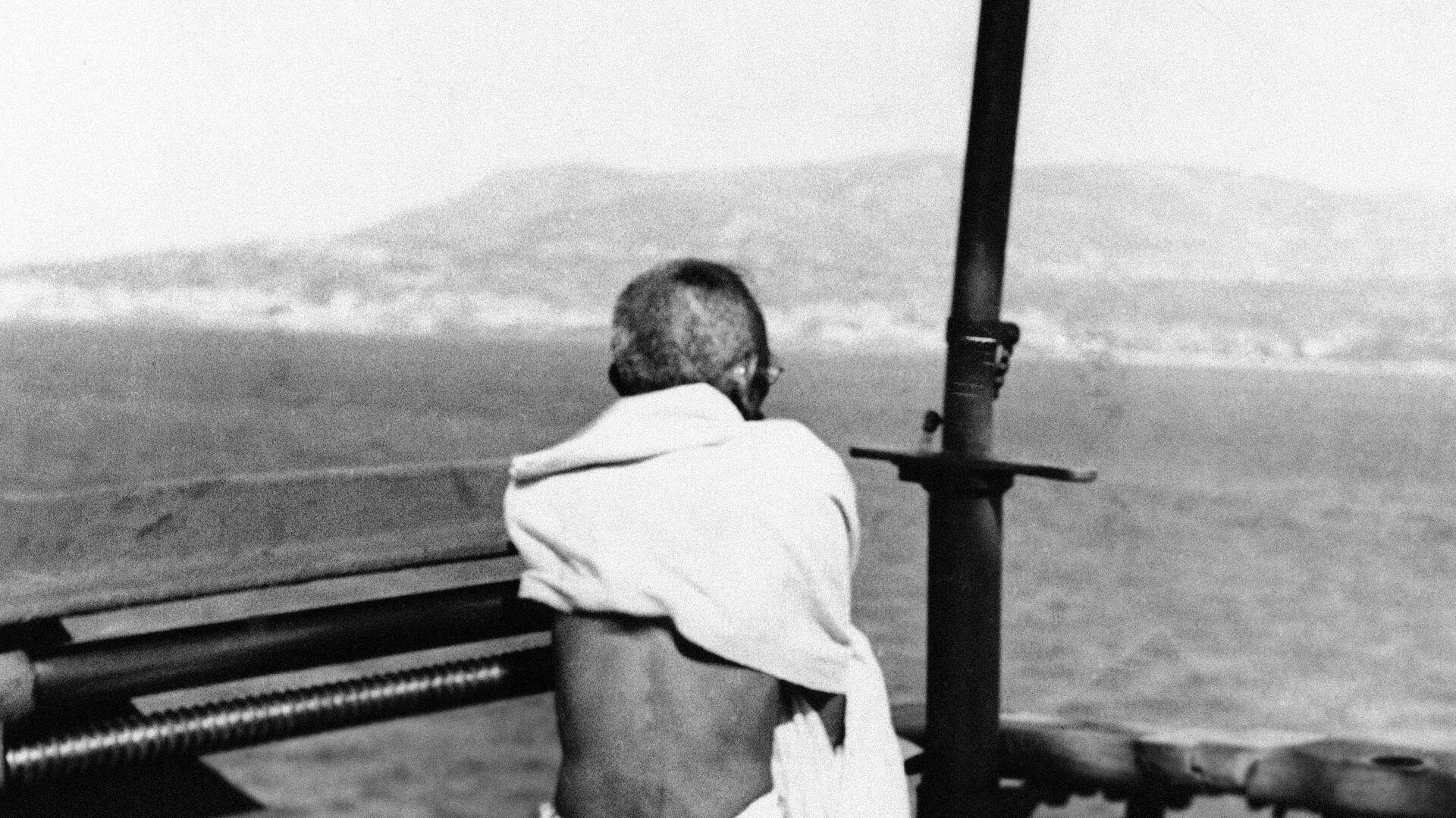 Махатма Ганди - РИА Новости, 1920, 20.01.2021
