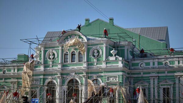 Открытие Большого драматического театра им. Г.А. Товстоногова после реконструкции