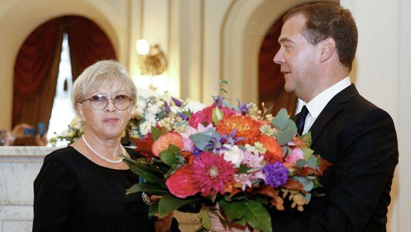 Д.Медведев принял участие в открытии Большого драматического театра имени Г.А. Товстоногова после реконструкции