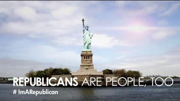 Кадр из ролика Republicans Are People Too