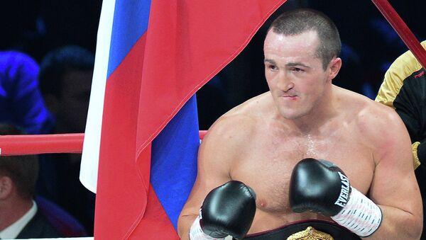 Российский боксер Денис Лебедев. Архивное фото
