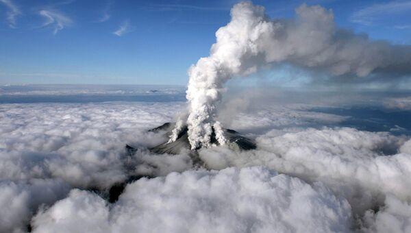 Извержение вулкана Онтакэ в Японии, 27 сентября 2014