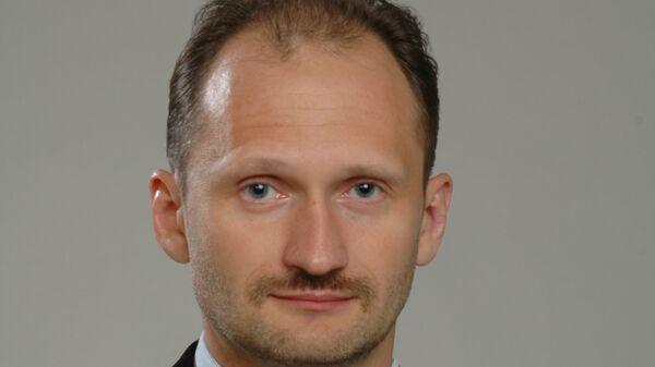 Один из лидеров партии Русский союз Латвии Мирослав Митрофанов