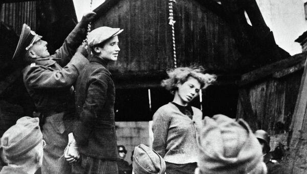 Жертвы гитлеровцев