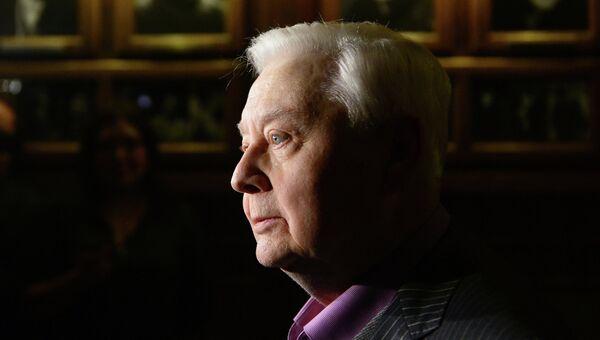 Художественный руководитель, директор МХТ имени А.П. Чехова Олег Табаков. Архивное фото