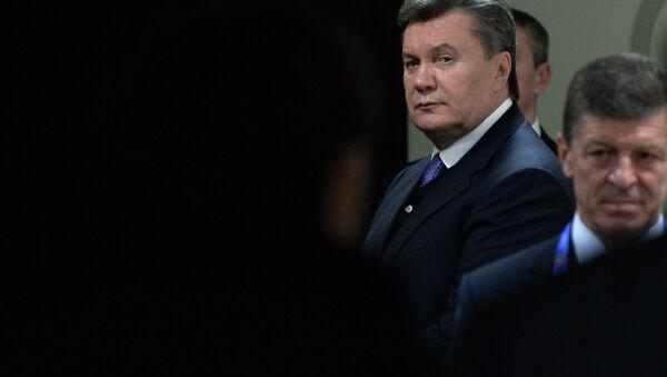 Виктор Янукович. Архивный фото