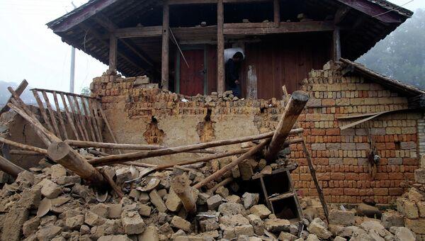 Землетрясение в Китае. Архивное фото
