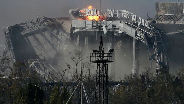 Бои за аэропорт Донецка