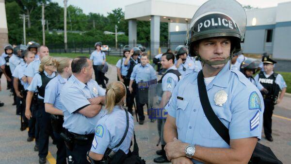 Полиция Сант-Луиса, США. Архивное фото